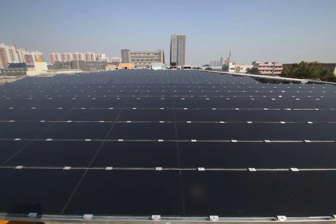 楼顶太阳能光伏电站
